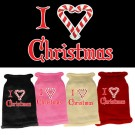 I Heart Christmas Screen Print Knit Pet Sweater | PrestigeProductsEast.com
