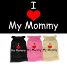 I Heart Mommy Screen Print Knit Pet Sweater | PrestigeProductsEast.com