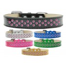 Sprinkles Ice Cream Dog Collar Bright Pink Crystals | PrestigeProductsEast.com