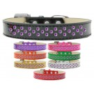 Sprinkles Ice Cream Dog Collar Purple Crystals | PrestigeProductsEast.com