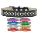 Sprinkles Ice Cream Dog Collar Pearl and AB Crystals