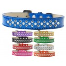 Sprinkles Ice Cream Dog Collar Pearl and Clear Crystals | PrestigeProductsEast.com