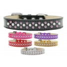 Sprinkles Ice Cream Dog Collar Pearl and Light Pink Crystals | PrestigeProductsEast.com