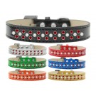 Sprinkles Ice Cream Dog Collar Pearl and Red Crystals | PrestigeProductsEast.com