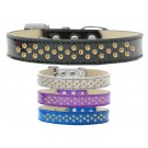 Sprinkles Ice Cream Dog Collar Yellow Crystals | PrestigeProductsEast.com