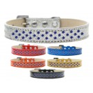 Sprinkles Ice Cream Dog Collar Blue Crystals | PrestigeProductsEast.com