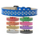 Sprinkles Ice Cream Dog Collar Clear Crystals | PrestigeProductsEast.com
