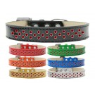 Sprinkles Ice Cream Dog Collar Red Crystals | PrestigeProductsEast.com