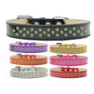 Sprinkles Ice Cream Dog Collar Lime Green Crystals | PrestigeProductsEast.com