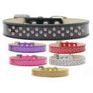 Sprinkles Ice Cream Dog Collar Light Pink Crystals | PrestigeProductsEast.com