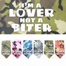Lover not a Biter Screen Print Bandana | PrestigeProductsEast.com