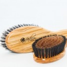Bronze Ionic Positive Charge Grooming Brush