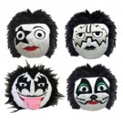 Official KISS faball Squeaky Toy (4 Pack) | PrestigeProductsEast.com