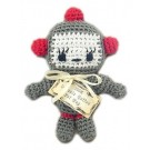Knit Knack Baby Bot Organic Cotton Dog Toy | PrestigeProductsEast.com