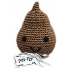 Knit Knacks Doodie the Poo Organic Cotton Small Dog Toy | PrestigeProductsEast.com