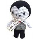 Knit Knacks Dracula Organic Cotton Small Dog Toy | PrestigeProductsEast.com