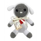 Knit Knacks Fleece the Lamb Organic Cotton Dog Toy | PrestigeProductsEast.com
