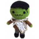 Knit Knacks Franky The monster Organic Cotton Small Dog Toy | PrestigeProductsEast.com