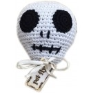 Knit Knacks Skully the Skull Organic Cotton Small Dog Toy | PrestigeProductsEast.com