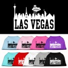 Las Vegas Skyline Screen Print Pet Shirt | PrestigeProductsEast.com