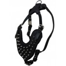 Royal Spiked Leather Dog Harness | PrestigeProductsEast.com