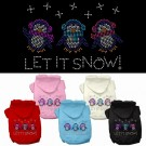 Let it Snow Penguins Rhinestone Hoodie | PrestigeProductsEast.com