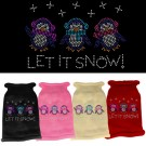Let It Snow Penguins Rhinestone Knit Pet Sweater | PrestigeProductsEast.com