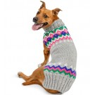 Light Grey Fairisle Dog Sweater | PrestigeProductsEast.com