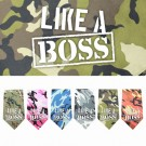 Like a Boss Screen Print Bandana | PrestigeProductsEast.com