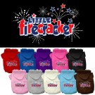 Little Firecracker Screen Print Pet Hoodie | PrestigeProductsEast.com