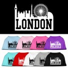 London Skyline Screen Print Pet Shirt | PrestigeProductsEast.com