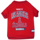 Los Angeles Angels Baseball Pet Shirt | PrestigeProductsEast.com