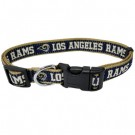 Los Angeles Rams Collar and Leash | PrestigeProductsEast.com
