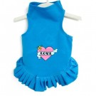 Love Dress with Red Heart | USA Pet Apparel | PrestigeProductsEast.com