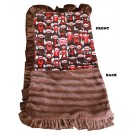 Luxurious Plush Pet Blanket - Funky Monkey | PrestigeProductsEast.com