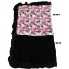 Luxurious Plush Pet Blanket Pink Party Dots | PrestigeProductsEast.com