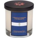 Memorial Candle - Royal Blue Cross | PrestigeProductsEast.com