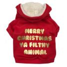 Merry Christmas Filthy Animal Hoodie | PrestigeProductsEast.com