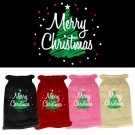 Merry Christmas Screen Print Knit Pet Sweater | PrestigeProductsEast.com