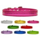 "Metallic Two Tier Collars for 3/8"" (10mm) Charms 