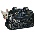 Metallic Zebra Rock Airline Pet Carrier | PrestigeProductsEast.com