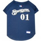 Milwaukee Brewers MLB Pet Jersey | PrestigeProductsEast.com
