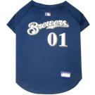 Milwaukee Brewers MLB Pet Jersey | PrestigeProductsEast.com