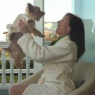 Mom Bathrobe to Match Dog Bathrobe | PrestigeProductsEast.com