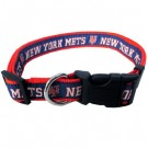 New York Mets Dog Collar and Leash | PrestigeProductsEast.com