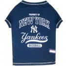 New York Yankees Baseball Pet Shirt | PrestigeProductsEast.com