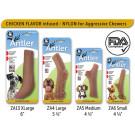 Pet Qwerks Nylon Antlers Dog Chews | PrestigeProductsEast.com