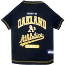 Oakland A's Baseball Pet Shirt | PrestigeProductsEast.com