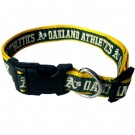 Oakland A's Dog Collar and Leash | PrestigeProductsEast.com