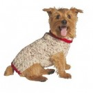 Oatmeal Cable Knit Dog Sweater | PrestigeProductsEast.com